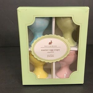 Pottery Barn Easter Egg Cups Coquetiers